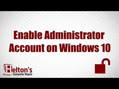 Administrator Account 🖥️ - Enable or Disable in Windows 10 ✔️