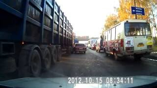Смотреть видео приколы на дорогах Приколы про дальнобойщиков 2016
