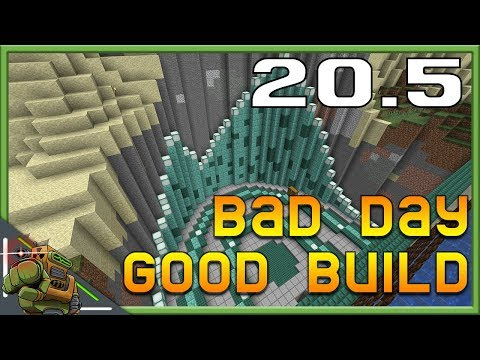 Bad Day, Good Build | Minecraft Let's Play | Season 1 Episode 20.5