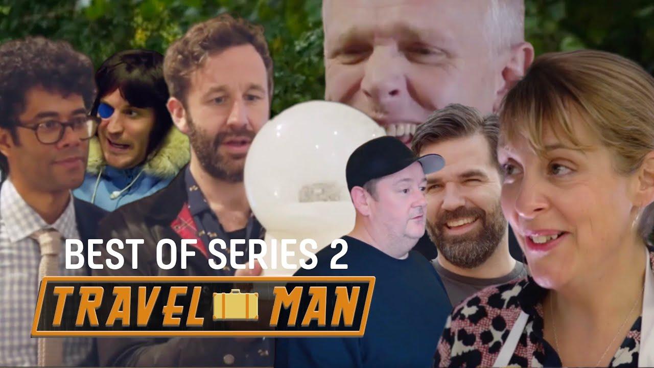 The ULTIMATE Richard Ayoade & Celeb guests Travel Man Mashup - Series 2 | Travel Man