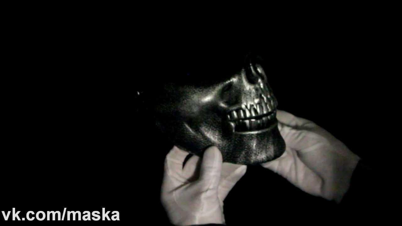 череп в капюшоне фото