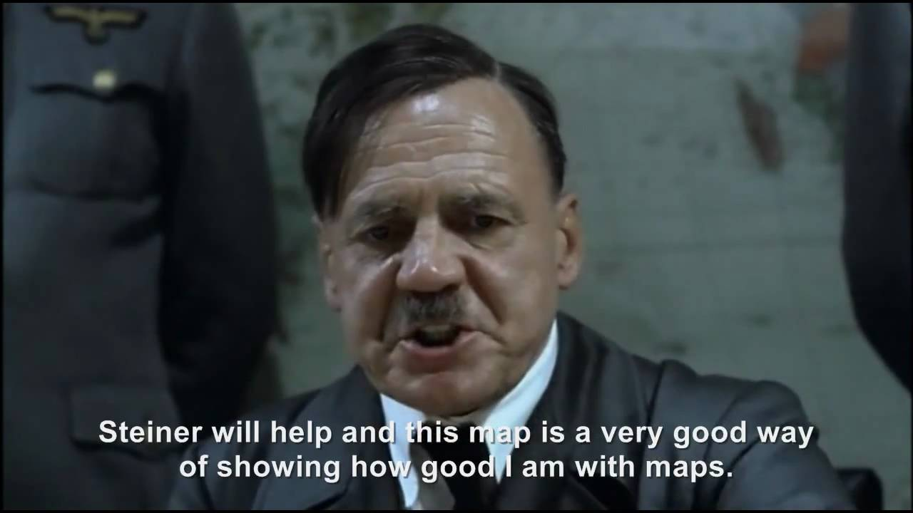 Hitler plans to do something very smart