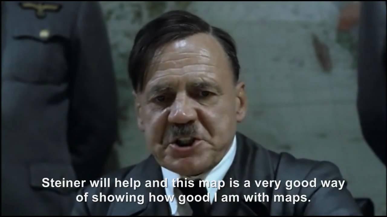 Hitler plans to do something very smart