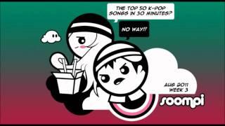 [Listen] Soompi Chart Top 50 - August 2011, Week 4
