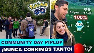 ¡NO HAS VISTO NADA IGUAL! LOCURA EN EL COMMUNITY DAY DE PIPLUP - Pokémon GO [Neludia]