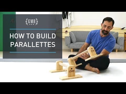 How to Build Your Own Parallettes - DIY Home Workout Equipment