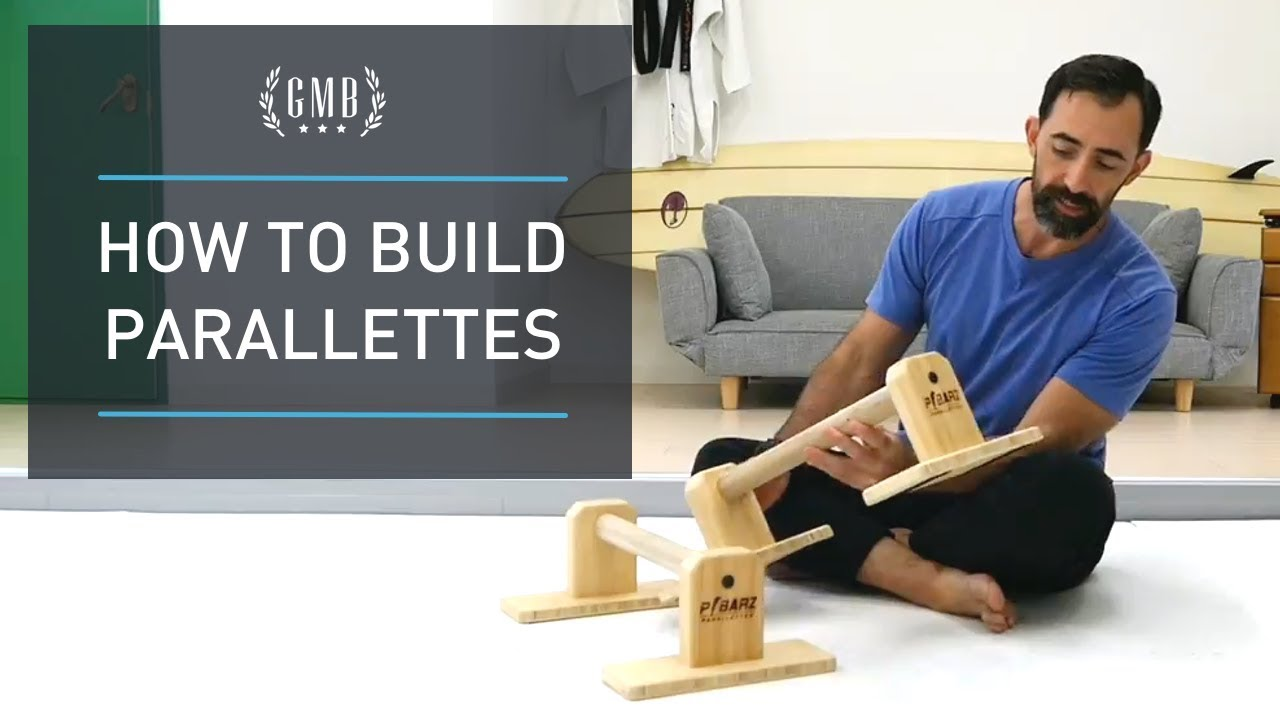 How to Build Your Own Parallettes - DIY