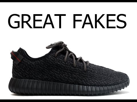 The Best Fake Yeezy's! - YouTube