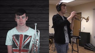 Adele - Hello (Trumpet cover by Trumpet Guy & Carter Miller)