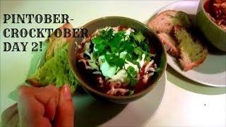 Chicken Chili!---crocktober/pintober Day 2
