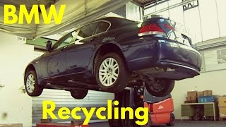 BMW Cars Recycling(BMW pre production test cars Recycling. Subscribe: Watch BMW i3 Recycling: https://www.youtube.com/watch?v=2xNiGoxHBKw., 2015-10-26T21:47:10.000Z)