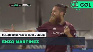 Enzo Martínez (2-2) Colorado Rapids vs Boca Juniors | Amistoso de pretemporada