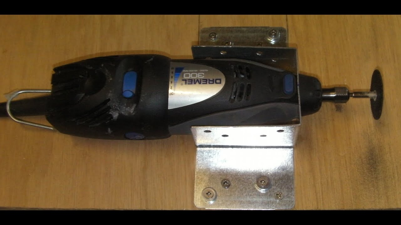 How To Make A Dremel Drill Holder Video Youtube