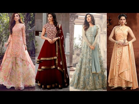 New Stylish & Beautiful Designer Semi Long Tops/Kurti Designs for Winter from YouTube · Duration:  4 minutes 45 seconds