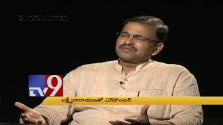 JD Lakshminarayana in Encounter With Murali Krishna - TV9