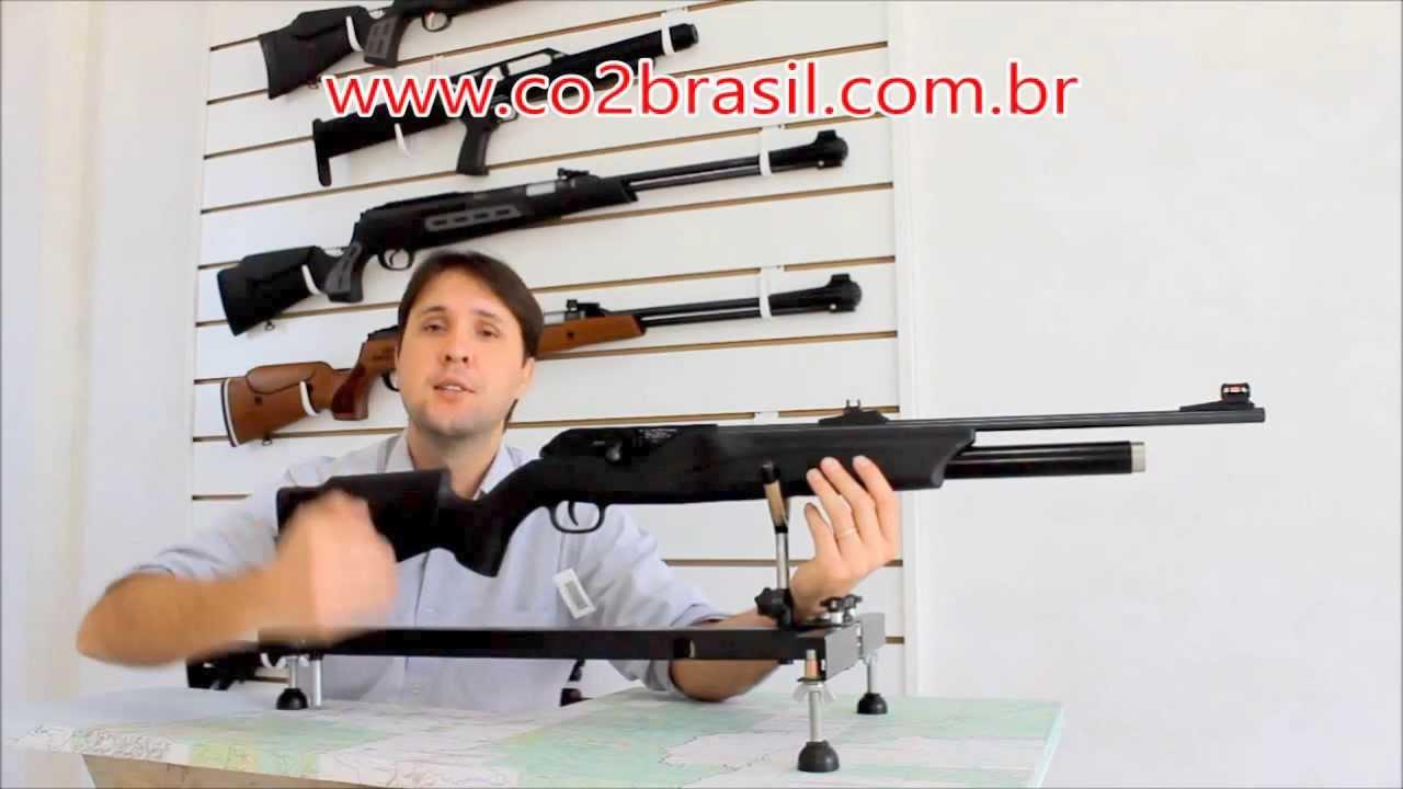 Rifle De 300 Bar Carabina Walther Dominator 1250 Ft Pcp 5