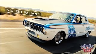 """Hot Rod Chassis and Cycle 1964 Plymouth """"Violent"""" Valiant"""