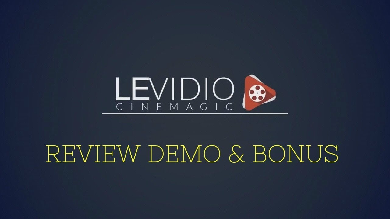 Levidio cinemagic review demo bonus new cinematic video templates levidio cinemagic review demo bonus new cinematic video templates pack for powerpoint toneelgroepblik Choice Image