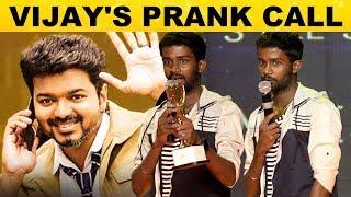 Vijay Sir Request - KPY Dheena Revealed Master's Shooting Spot Secret | Studio One Star Icon Award - 13-02-2019 Tamil Cinema News