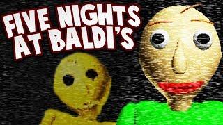 WHO IS GOLDEN BALDI?! | Five Nights At Baldi's (Baldi's Basics Fan Game)