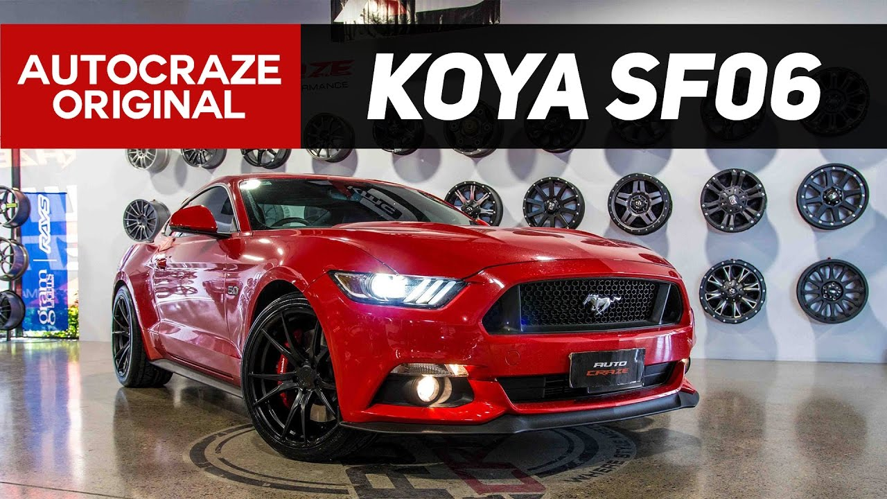 2017 Mustang Rims >> Red Inferno Koya Sf06 Wheels Ford Mustang Rims Autocraze 2017