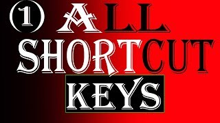 Computer shortcut key |shortcut key of computer | keyboard shortcuts key .hindi.urdu.english part -1