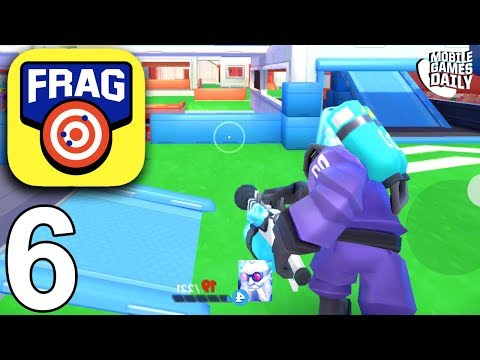 FRAG PRO SHOOTER - DR Frost - Gameplay Walkthrough Part 6 (iOS Android)