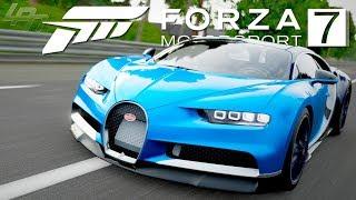 Bugatti Chiron! Testfahrt und Vollaufbau - FORZA MOTORSPORT 7 | Lets Play Forza 7