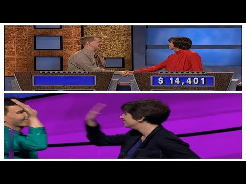 Ken Jennings and James Holzhauer losing comparison