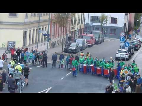 Trommler beim Dresden Marathon 2017