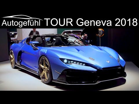 Geneva Motor Show 2018 Highlights REVIEW TOUR upcoming new cars @ GIMS - Autogefühl