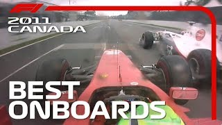 Button's Win, Mega Schumacher Overtake + More! | Emirates Best Onboards | 2011 Canadian Grand Prix
