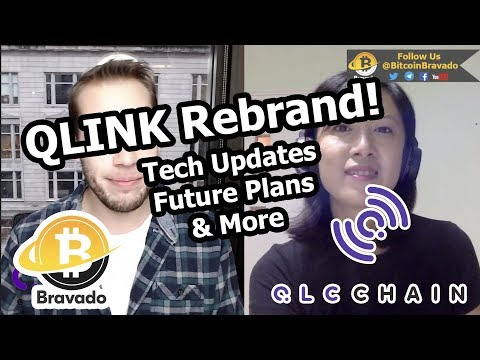Qlink Rebrand To QLC Chain - Interview W/ Bitcoin Bravado