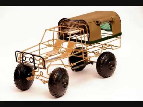 Toys From Africa : Wire crafted model cars from africa youtube