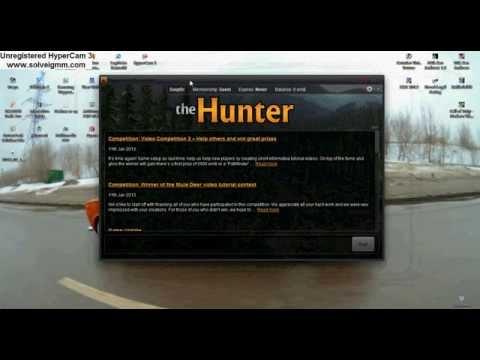 Как запустить игру по нету в The Hunter