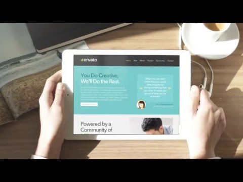 iMac iPad iPhone Mock-Up Real Footage - After Effects Template - YouTube