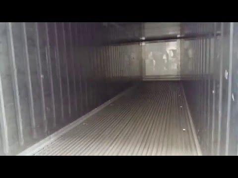 видео: Рефконтейнер 40-футов hc thermo king