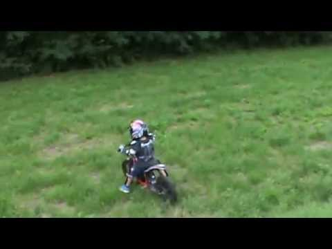 Motocross Bambini Ricky 5 Anni Trial