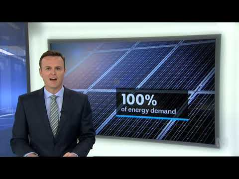 ABC News: South Australia runs purely on solar power in worl