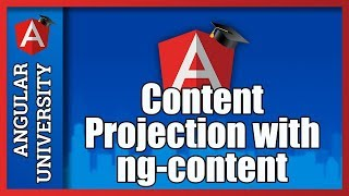 💥 Angular Content Projection with ng-content In Detail