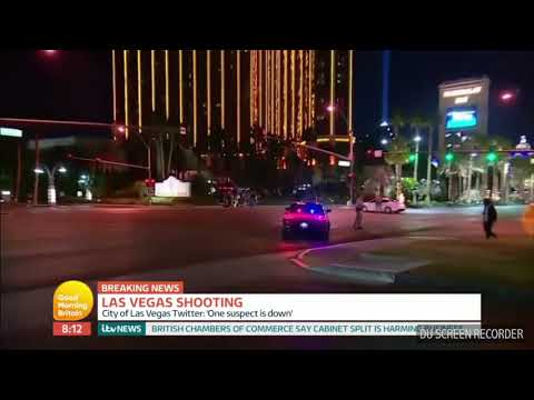 Shameful Piers Morgan puts Mariah Carey on the spot about Las Vegas Shootings (Good Morning Britain)