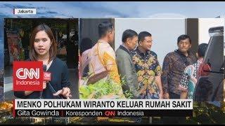 Menko Polhukam Wiranto Keluar Rumah Sakit