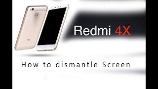 Xiaomi Redmi 4X How to dismantle LCD & Digitizer set replacement Full Tutorial / Wymiana ekranu