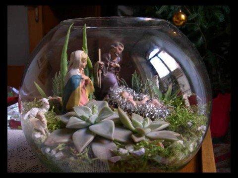 Presepe in una palla di vetro wwwblognatalecom  YouTube