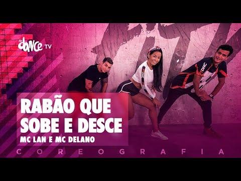 Rabão Que Sobe e Desce - MC Lan e MC Delano   FitDance TV (Coreografia) Dance Video