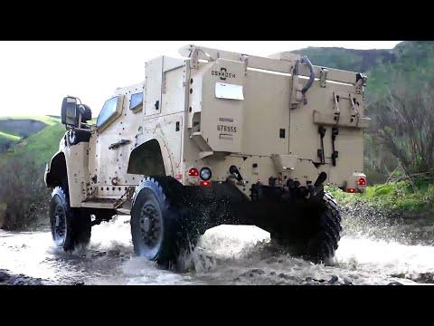 U.S Army New JLTV Show It's Lethal Maneuverability