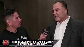 RICHARD SCHAEFER SAYS DAZN RISKY FOR FIGHTERS; DE LA HOYA JEALOUS OF PBC WHICH STILL HAS LOTS OF $$