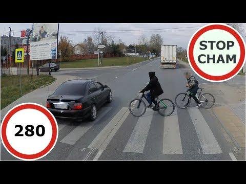 Stop Cham #280 - Niebezpieczne I Chamskie Sytuacje Na Drogach