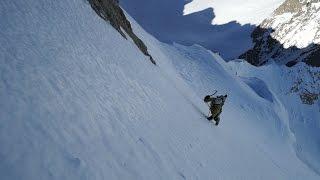 10805_ Mont Dolent voie Charlet et Goulottes Variantes Chamonix Mont-Blanc alpinisme
