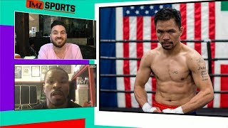 Shawn Porter Wants a Piece of Manny Pacquiao Too | TMZ Sports
